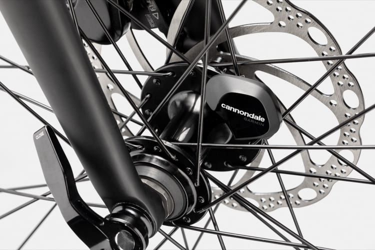 Cannondale Quick Bike Hub with integrated wheel sensor that helps track your activity