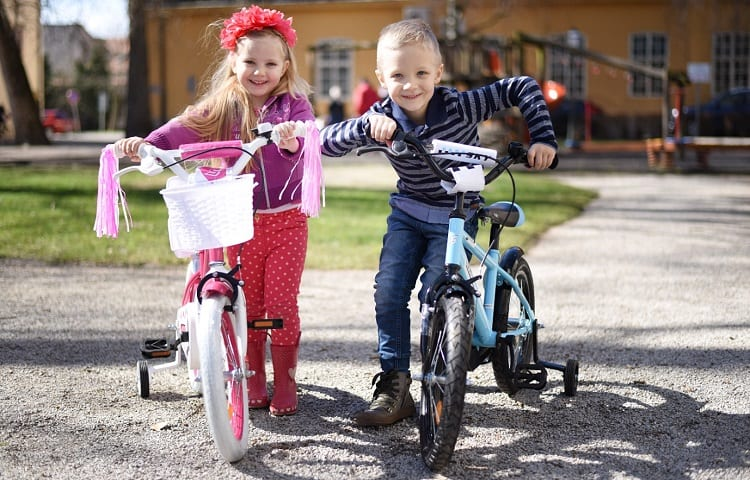 16-inch bikes for boy and girl