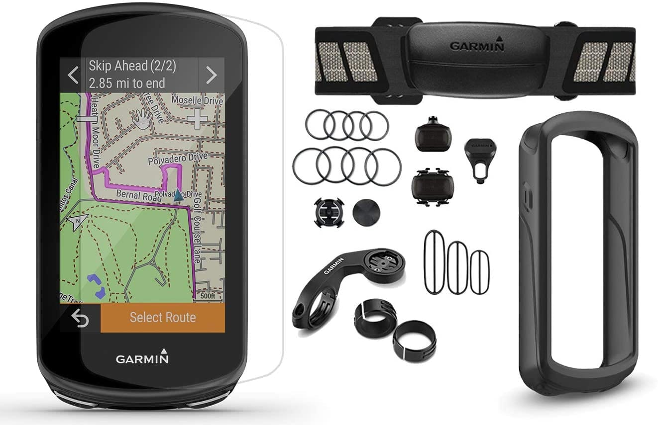 garmin edge 1030 plus 2020 model cycle bundle