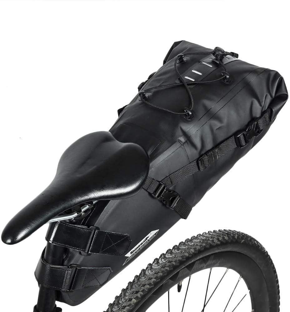 rhinowalk bike waterproof saddle bag