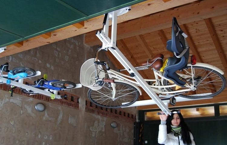ways to store bike