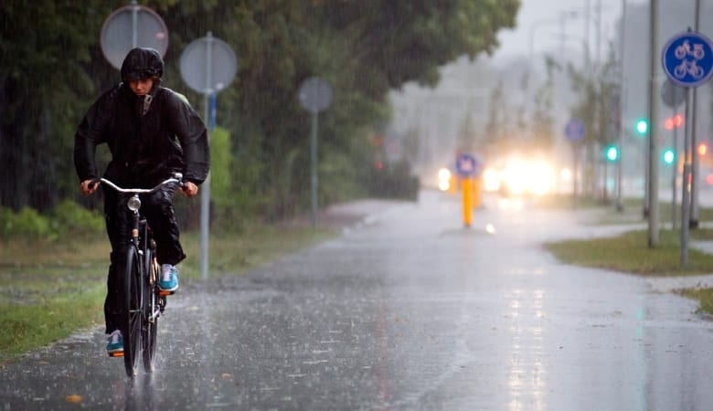 Cycling In The Rain - Quick Guide 1