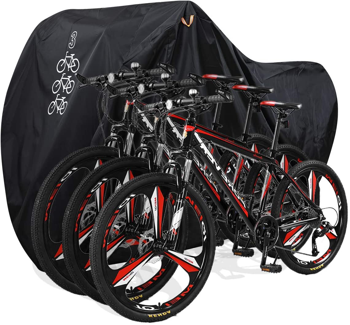aiskaer bicycle cover black color isolated on white background with bicycles