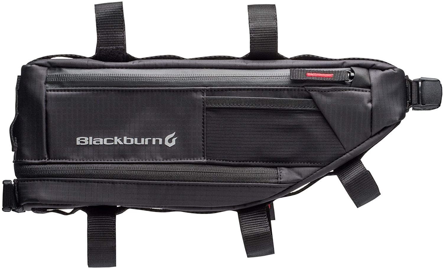 blackburn outpost bike frame bag isolated on white background