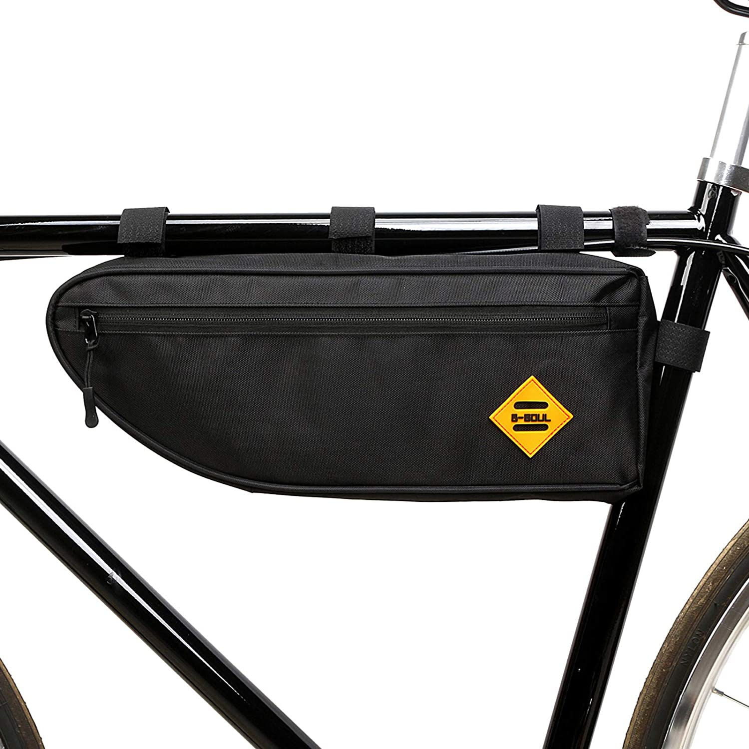 mooci bicycle frame bag fixed on bicycle frame