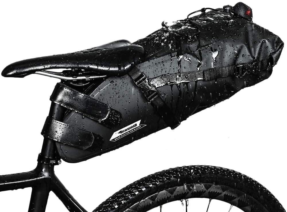 rhinowalk bike saddle bag wet in rain