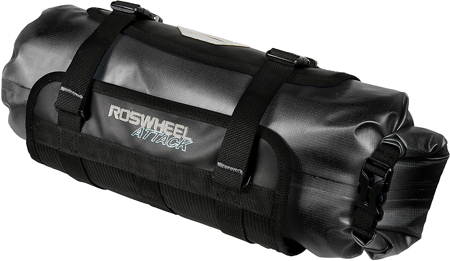 roswheel bike handlebar bag black color