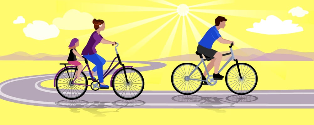 2.Benefits Of Cycling