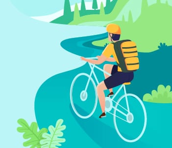 6.Cycling Is Good For The Environment