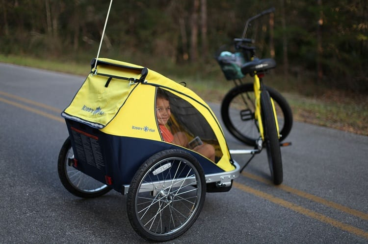 WHAT AGE ARE BIKE TRAILERS SUITABLE FOR?