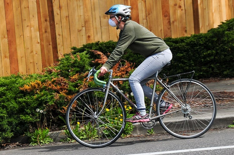 REDUCE THE INTENSITY OF YOUR CYCLING WORK OUT