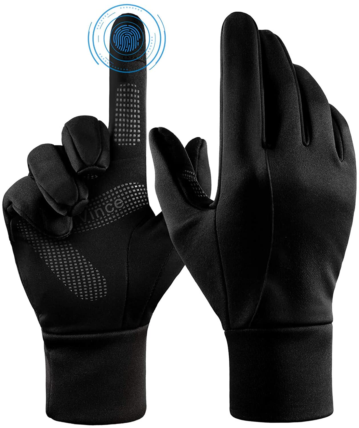 fanvince winter gloves water resistant and windproof