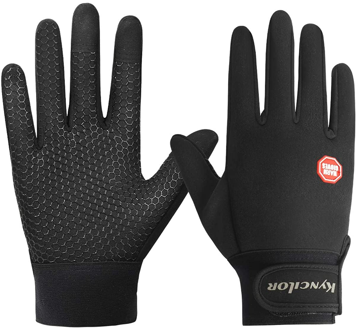 sunifier windproof and waterproof warm gloves for cycling