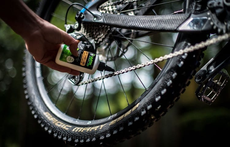 How often to lube chain