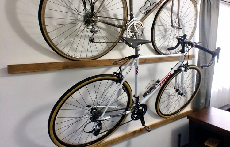wall mount for bikes