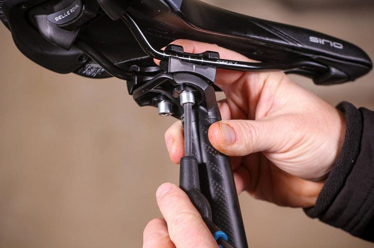Step 1: Put the Saddle on the Seatpost